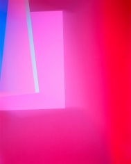 Richard Caldicott, Chance/Fall, 2010, Sous Les Etoiles Gallery, pink, abstract