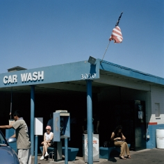 Ronan Guillou, In Between, San Diego Car Wash, 2002, Sous Les Etoiles Gallery