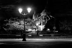 Jean-Michel Berts, The Light of Paris, Notre Dame Nuit, 2005, Sous Les Etoiles Gallery