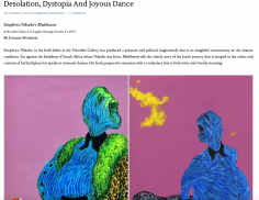 Desolation, Dystopia And Joyous Dance - Simphiwe Ndzube
