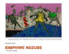 Simphiwe Ndzube featured in Artillery