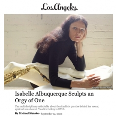 Isabelle Albuquerque Sculpts an Orgy of One