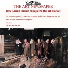 How Adrian Ghenie Conquered the Art Market