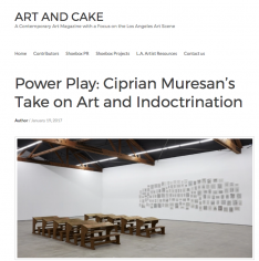 Ciprian Muresan featured in Art & Cake
