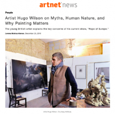 Hugo Wilson on Myths, Human Nature, and Why Painting Matters