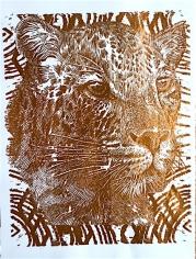 Copper Foil Cheetah