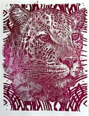 Red Foil Cheetah