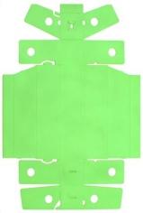 "ALT=""Tony Feher, Untitled, 2011, Spray paint on unfolded cardboard packaging"""