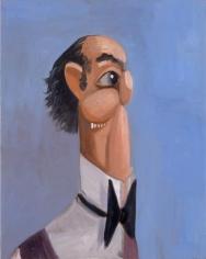 George Condo, Jean Louis' Butler, 2005