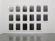 Glenn Ligon, Untitled, 2016,  Suite of 17 screenprints, Edition of 5