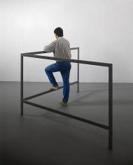 Michelangelo Pistoletto Struttura per parlare in piedi (Structure for Talking while Standing), 1965 - 1966