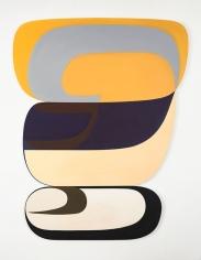 Joanna Pousette-Dart 3 Part Variation #5, 2011-2013