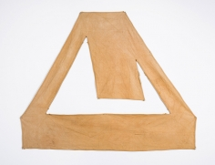 Richard Tuttle Red Brown Canvas, 1967