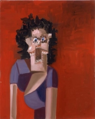 George Condo, Jean Louis' Wife, 2005