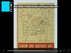 "Steve Wolfe speaking about his work ""Untitled (Cubism And Abstract Art)"", Audio provided by Acoustiguide. © The Museum of Modern Art."