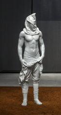 Action 180, 2016, Marble, 94.5 x 31.5 x 21.7 in / 240 x 80 x 55 cm