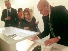 Alberto Burri Opening