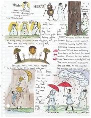 Marcel Dzama Untitled (sketchbook page 3)