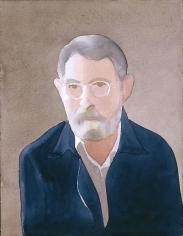 Self-Portrait watercolor, graphite on paper