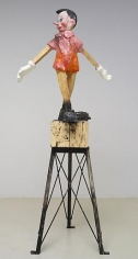 Jim Dine On Top of the Wood