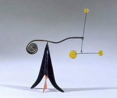 Untitled 1953 painted metal and steel wire