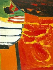 Untitled 1950 oil on canvas