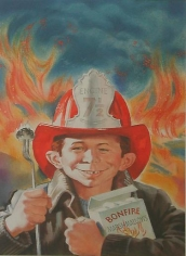"""Norman Mingo Book Cover Art to """"Burning MAD,"""" December"""