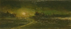 Michael Gregory Night Study, 1988