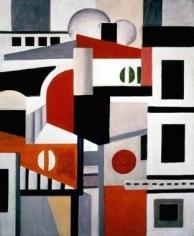 Fernand Leger Les Maisons, 1922