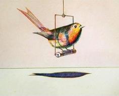 Wayne Thiebaud Bird