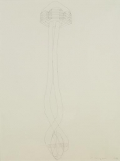 Martin Puryear Drawing for Sanctuary, 1982