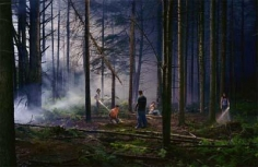 Gregory Crewdson Untitled (forest gathering)