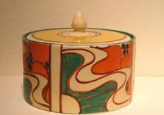 Orange Sunrise pot