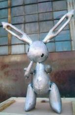 Jason Rhoades Right-handed Koons Bunny