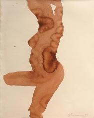 Nathan Oliveira Santa Fe Nude 82, 1999