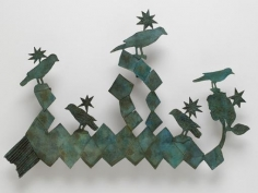 Kiki Smith Birds and Shamrocks