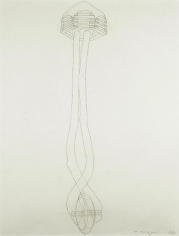 Martin Puryear Drawing for Sanctuary