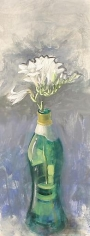 Paul Wonner Flowers in Bottles: Freesias #2, 2000