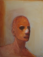 Nathan Oliveira Golden Head