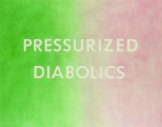 Ed Ruscha Pressurized Diabolics