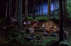 Gregory Crewdson Untitled (man in the woods)