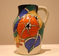 Latona Bouquet single-handled lotus jug