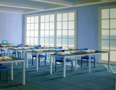 Blue Reading Room