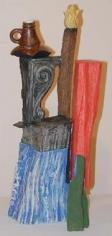 Robert Hudson Flaming Stick Bottle, 2002