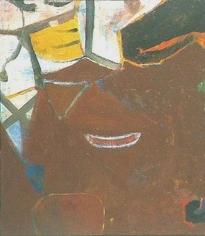 Pennants 1950 oil on canvas
