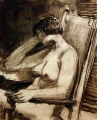 Elmer Bischoff Model in Chair