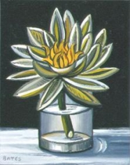 Water Lily in a Glass