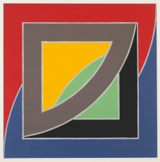 Frank Stella River of Ponds III, from Newfoundland Series, 1971
