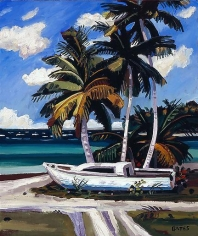 David Bates Sail Boat - Sandy Point, 2008