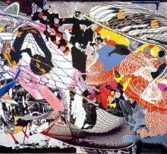 Frank Stella Study for Karpathenburg III